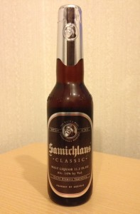 Samichlaus bottle